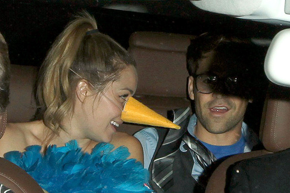 Lauren Conrad and Kyle Howard - Lauren Conrad at a Halloween Party