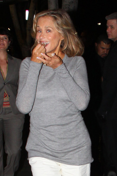 Lauren Hutton Thursday April 8 2010..