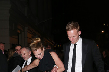 Laurence Fox Celebs Leave the Olivier Awards in London