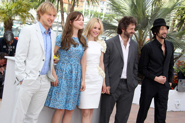 Owen Wilson Michael Sheen Celebs at the Photocall for 'Midnight in Paris'