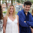 "Christophe Honore Catherine Deneuve and Chiara Mastroianni at ""Les Bien-Amies"" in Cannes"