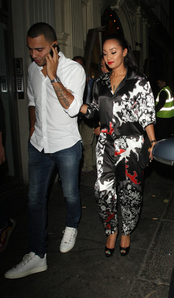 Leigh-Anne Pinnock Out Late in London