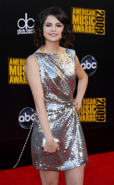 Selena Gomez Selena Gomez at the 2009 American Music Awards held at the Nokia Theater, Los Angeles.