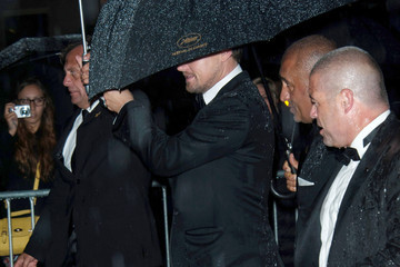 Leonardo DiCaprio Celebs Leave After the 'Gatsby' Screening in Cannes