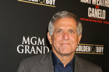 Leslie Moonves Stars at the MGM Grand for the Floyd Mayweather Jr. Fight