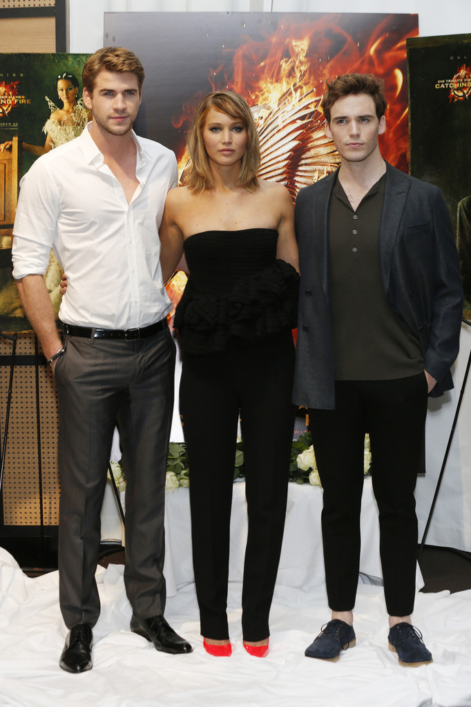 Liam Hemsworth - 'The Hunger Games' Stars Pose in Cannes