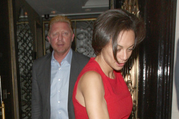 Lilly Kerssenberg Boris Becker and Wife Dine in London