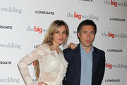 Kierston Wareing attends a special screening of 'The Big Wedding' at May Fair Hotel in London.