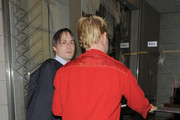 """Macaulay Culkin and Kieran Culkin leave the afterparty for """"Scott Pilgrim versus the World"""" at Circus Bar in Covent Garden and head back to their London hotel."""
