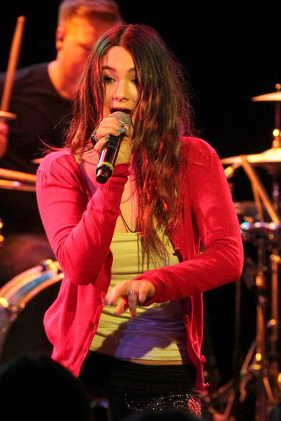 Booboo Stewart and his sisters Fivel and Maegan perform as TSC (The Stewart Clan) at the Roxy Theater on Sunset Blvd.