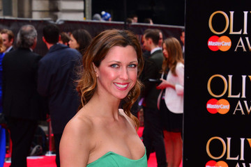 Margo Stilley Arrivals at the Olivier Awards 4