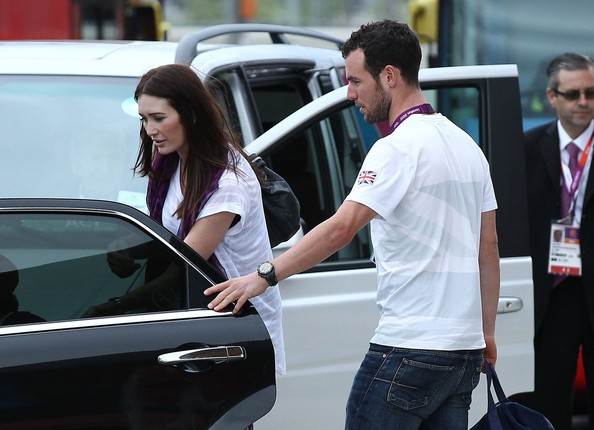 Mark Cavendish And Peta Todd Photos Photostream Pictures Famous Spectators At The Olympics