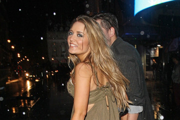 Abi Phillips Celebs at the British Soap Awards After Party