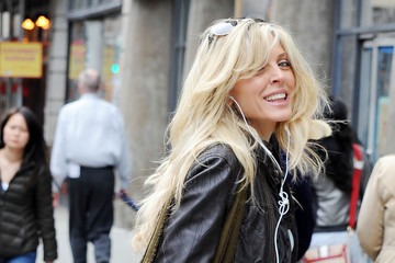 Marla Maples Marla Maples Runs Errands in NYC