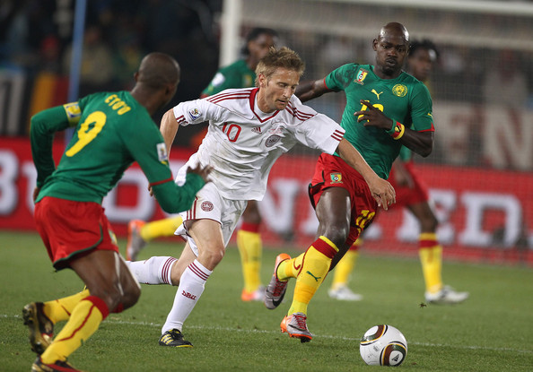 Cameroon v Denmark at the 2010 World Cup