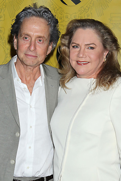 Michael Douglas and Kathleen Turner reunite at the The ...