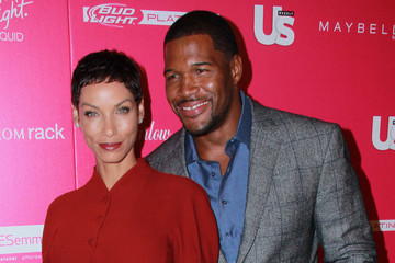 Michael Strahan Nicole Murphy US Weekly's Most Stylish New Yorkers Party