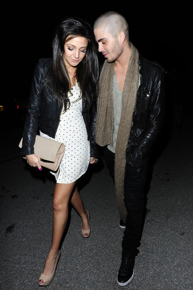 File Photos Michelle Keegan And Max George