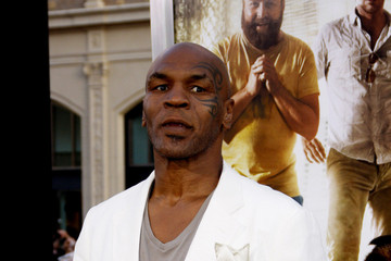 Mike Tyson LA Premiere of 'The Hangover Part II' in Los Angeles