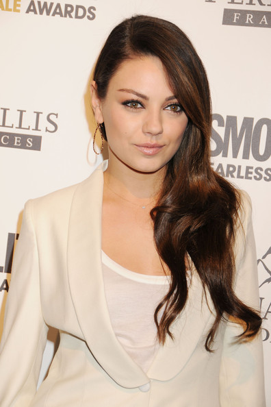 cosmopolitan hairstyles. MILA KUNIS NEW HAIRSTYLES OF