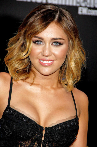 "Miley Cyrus - Celebs at ""'The Hunger Games' Premiere"