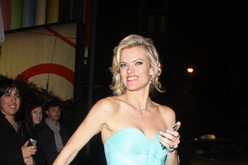 Missi Pyle Celebs at the Chateau Marmont Oscars After Party