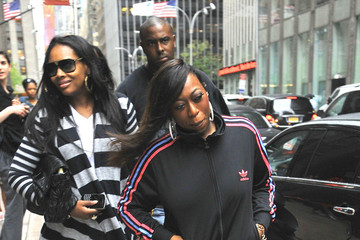 Missy Elliot Missy Elliot Greets Fans in NYC