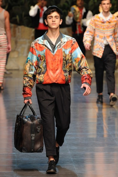 Dolce And Gabbana Men's Fashion Show Dolce amp Gabbana Spinrg Summer