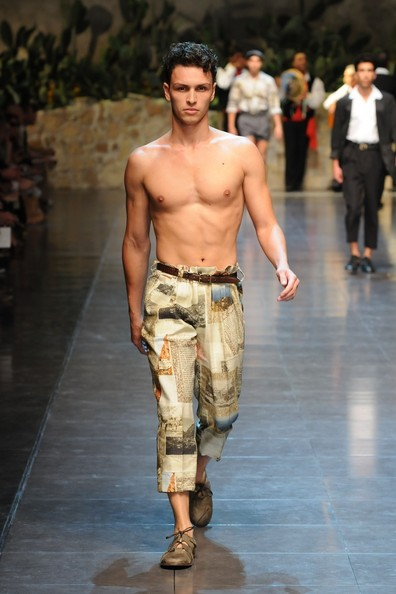 Men Fashion Show Summer Dolce amp Gabbana Spinrg Summer
