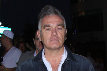 Morrissey Morrissey at the Rolling Stones Concert