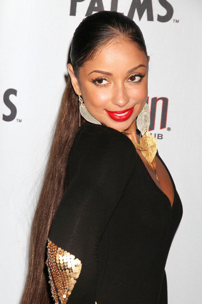 Mya Looking Picture Perfect On The Red Carpet Of Rain