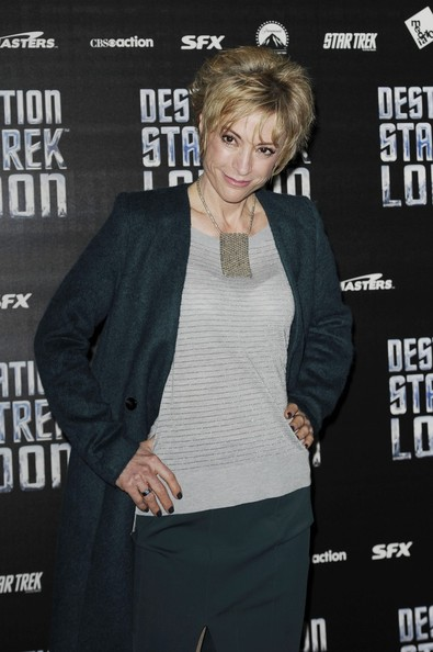 Nana Visitor at Destination Star Trek London at Excel  London  England    Nana Visitor Star Trek