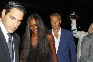 Naomi Campbell Vladislav Doronin Celebs at the Fashion for Relief Charity Dinner