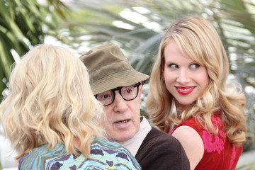 """Woody Allen Naomi Watts Naomi Watts and Woody Allen at the """"You Will Meet a Tall Dark Stranger"""" Photocall 2"""