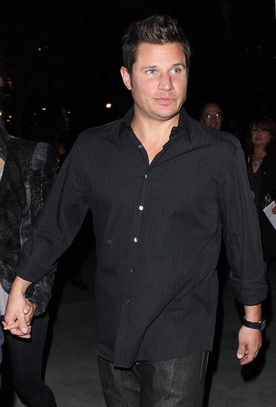 "72422, LOS ANGELES, CALIFORNIA, Saturday January 28, 2012, Nick Lachey and Vanessa Minnillo go to see Michael Jackson ""The Immoruol"" World Tour by Cirque du Soleil at the Staples Center in Los Angeles. It has recently been announced that Cox will reunite on screen with her ex husband David Arquette when he appears on her hit series ""C Town&quot"". Phoph: ©h: ©David Tonnessen, PacificCoastNews.com **FEE MUST BE AGREED PRIOR TO USAGE** **E-TABLET/IPAD & MOBILE PHONE APP PUBLISHING REQUIRES ADDITIONAL FEES** LOS ANGELES OFFICE:+1 310 822 0419 LONDON OFFICE:+44 20 8090 4079"
