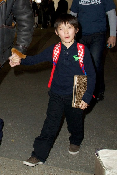 Nicolas Cage Pictures - Nicolas Cage and Son at the Airport 2 - Zimbio