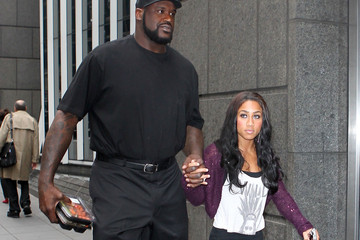 Nicole Alexander Shaquille O'Neal and Girlfriend in NYC