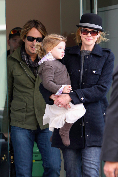Nicole Kidman and Keith Urban Out and About - Zimbio