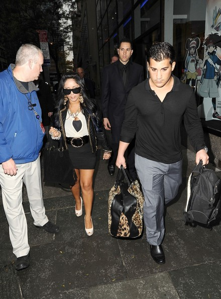bc742bcabb4 Nicole Polizzi Photos Photos - Snooki and Jionni Out in NYC 2 - Zimbio