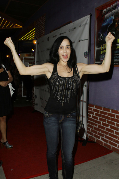 nadya suleman bikini photos. Nadya Suleman at the Ha Ha
