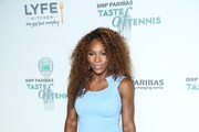 Serena Williams attends the 14th Annual BNP Paribas Taste Of Tennis at W New York Hotel in New York City.