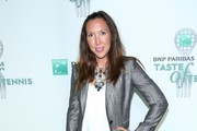 Jelena Jankovic attends the 14th Annual BNP Paribas Taste Of Tennis at W New York Hotel in New York City.