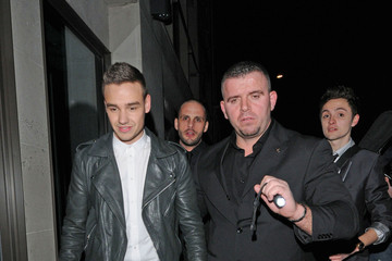 One Direction Celebs at a BRIT Awards After Party