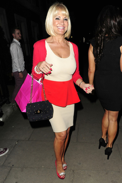 Carol Wright In The Only Way Is Essex Cast Out To Dinner