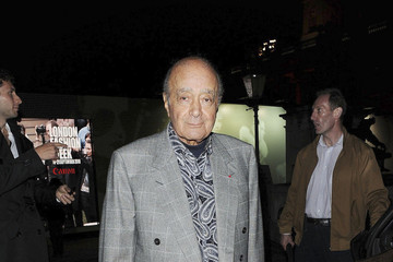 Mohammed Al Fayed Paloma Faith and Kelis at London Fashion Week