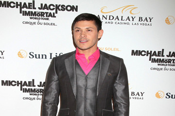 Alex Meraz Paris Jackson and Prince Jackson at the Michael Jackson The Immortal World Tour Premiere