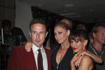 """David Arquette Kym Johnson Party on! """"Dancing With The Stars"""" contender Kristin Cavallari at the season premiere's official party at the Hyde Lounge in West Hollywood"""