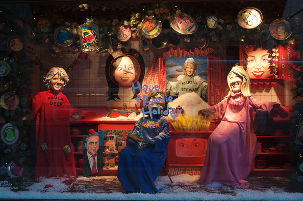 Paula Deen - Star Chefs at the Barney's Window Display