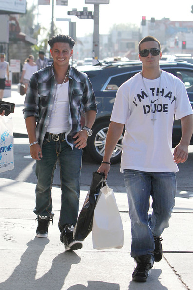 vinny and pauly d. Vinny Guadagnino Pauly D and