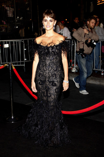 "Penelope Cruz at the world premiere of ""Pirates Of The Caribbean: On Stranger Tides"" held at Disneyland in Anaheim."